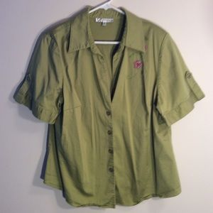 Women's Blouse Dressbarn Size 20W Clothes (C)
